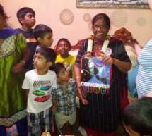 Ontario Govt. senior volunteer award – Mrs Varatha Tharmaratnam