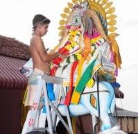 Thaipoosam festival 2014 at Sannithy