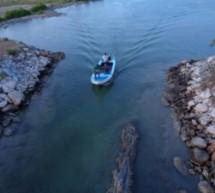 Recent photos of thondaimanaru river by KV samy