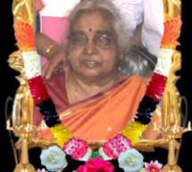 Mrs chellaratnam sinnathamby (Kamalam acca) passed away