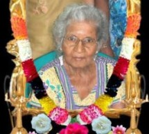 Thondaimanaru Mrs.Santhirasekaram Paramesway Passed away in Jaffna.