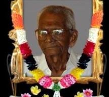 SP Jeyaratnarajaya passed away at trinco